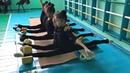 Растяжка Художественная гимнастика Сборы в Алмате с Екатериной Пирожковой