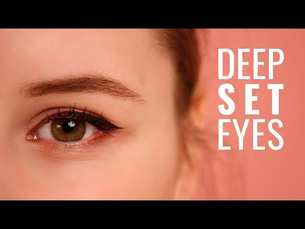 How to apply an eyeliner on uneven deep set eyes