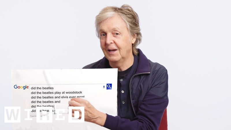 Paul McCartney Answers the Web's Most Searched Questions WIRED