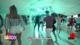 Sergey Vladimirovich and Albina Setdekova Salsa Dancing in Malibu at The Third Front, 04.08.18 (SC)