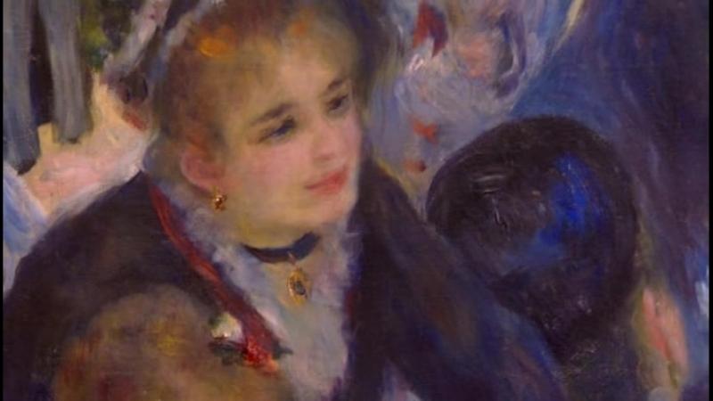 Бал в Мулен де ла Галетт - Пьер Огюст Ренуар / Auguste Renoir: Bal au moulin de la Galette, Montmartre