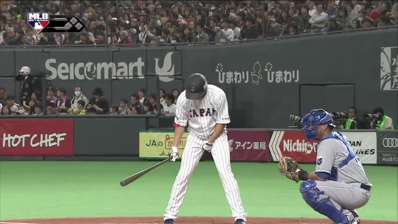 2014 MLB Japan All-Star Series. 18 ноября. Самураи Японии - Сборная МЛБ