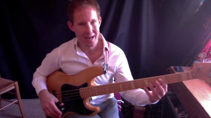 Slap bass lesson - Intermediate - Hammer-ons - triplets