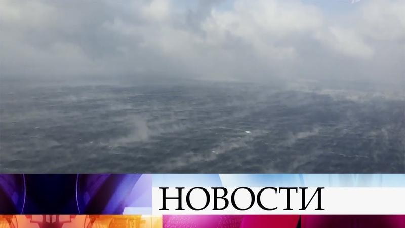 Крупная поисково-спасательная операция развернута у берегов Японии.