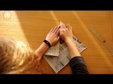 Делаем птичку из газеты с Валентиной Пермяковой, ри-тв