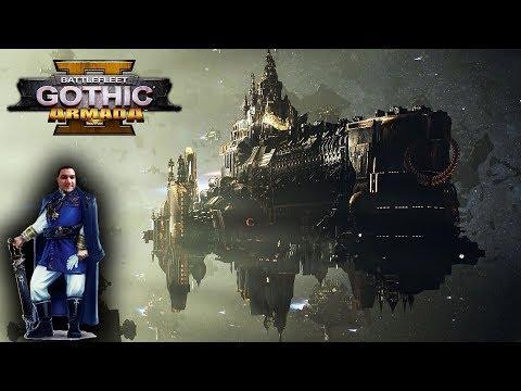 [18] Шон играет в Battlefleet Gothic Armada 2 - стрим 13 (PC, 2019)