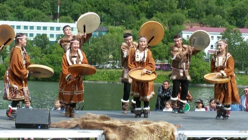 Танец коренных народов Севера.