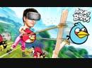 Alex Fox САМАЯ БОЛЬШАЯ РОГАТКА В ВИРТУАЛЬНОЙ РЕАЛЬНОСТИ HTC Vive Angry Birds VR