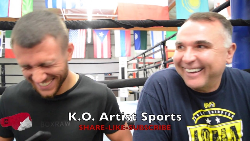 LOMACHENKO WAS AT CAGESIDE AT UFC 229! DEFENDS KHABIB FOR WHAT HE DID!