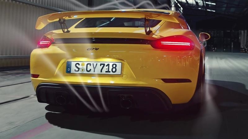 2020 Porsche 718 Cayman GT4 - interior Exterior and Drive