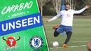 Higuain Hudson Odoi On 🔥 In Shooting Drill Chelsea Unseen