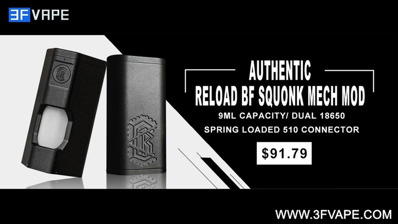 Authentic Reload BF Squonk Mod
