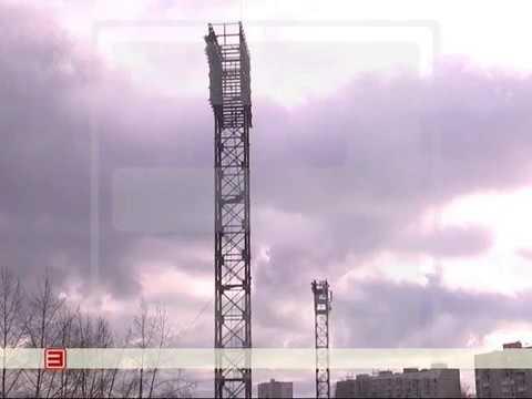 В Усть-Илимске с вышке на стадионе «Юбилейный» упал и разбился старшеклассник