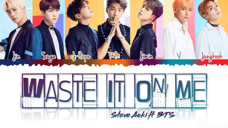 STEVE AOKI feat BTS - 'WASTE IT ON ME' Lyrics- Arabic Sub-(cover) للعربية مترجمة
