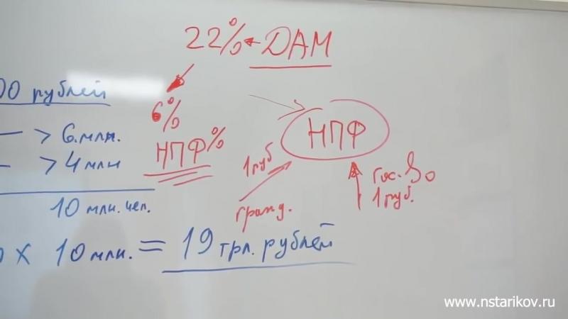 Николай Стариков_ Кому и зачем нужна «пенсионная реформа»