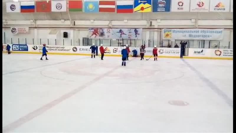 Хоккей на валенках 14.02.19г