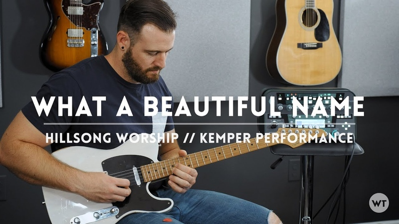 What A Beautiful Name - Hillsong Worship - Kemper Performance Electric guitar play through