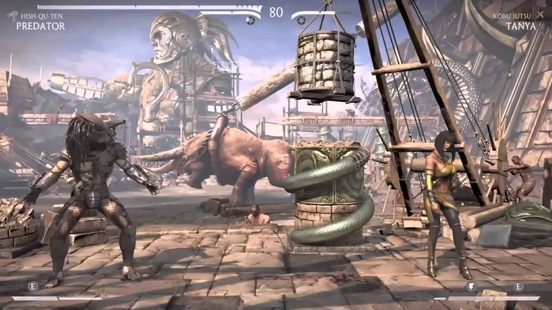 Mortal Kombat X Predator Mimic All Laughs and Taunts