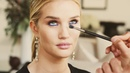 Rosie Huntington Whiteley and Sir John blue eye makeup tutorial