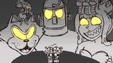 Roll or die | (cuphead cartoon rap battle) | FULL ANIMATIC