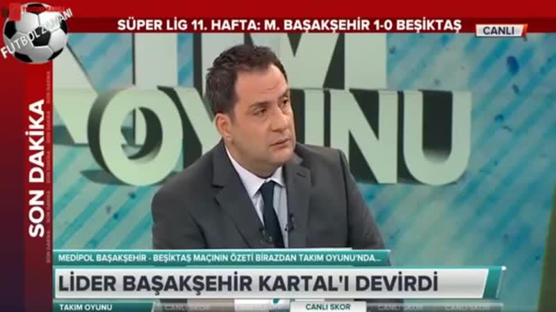 Başakşehir 1-0 Beşiktaş Maç Sonu Erman Toroğlu Takım Oyunu 1.Kısım