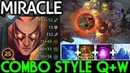 Miracle- [Invoker] Combo Style QW First Item Urn Pro Gameplay 7.19 Dota 2