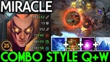 Miracle- Invoker Combo Style Q+W First Item Urn Pro Gameplay 7.19 Dota 2