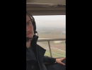 Дэниел и каст «Медичи» летят на вертолёте на съёмки сериала, Италия | 11.10.18 (IG story Synnøve Karlsen)