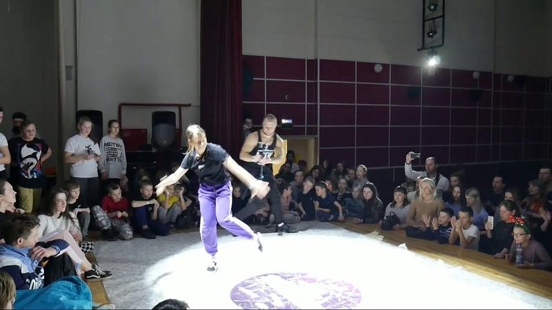 Beat Move Battle bgirl Zaharka