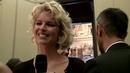 Eva Herzigova smiles to Mr DolceGabbana