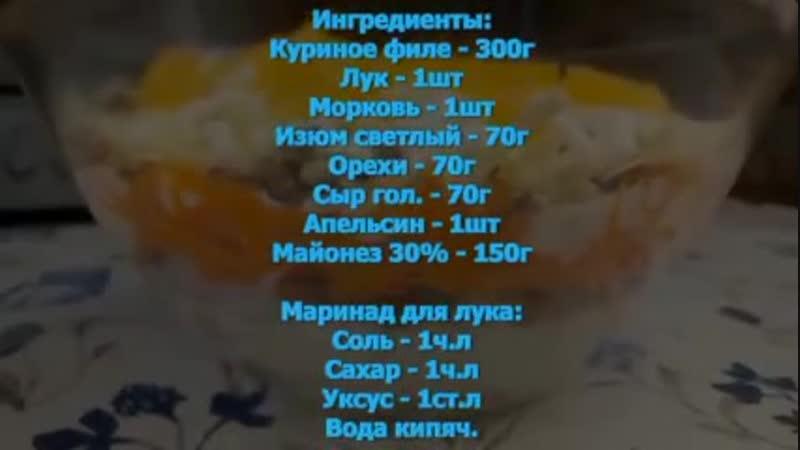 Топ 6 удачных салатов на Новый Год.