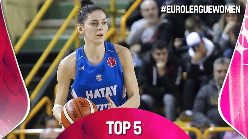 Top 5 Plays - Gameday 8 - EuroLeague Women 2018-19