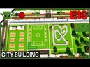Minecraft Building a City 16 - City Hall and Library and More!