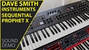 Dave Smith Instruments Sequential Prophet X Sound Demo (no talking)
