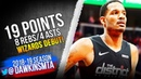Trevor Ariza Wizards DEBUT 2018 12 18 vs Hawks 19 Pts 8 Rebs 4 Asts FreeDawkins