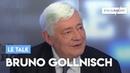 Le Talk de Bruno Gollnisch: «Je partage les idées morales de François-Xavier Bellamy»