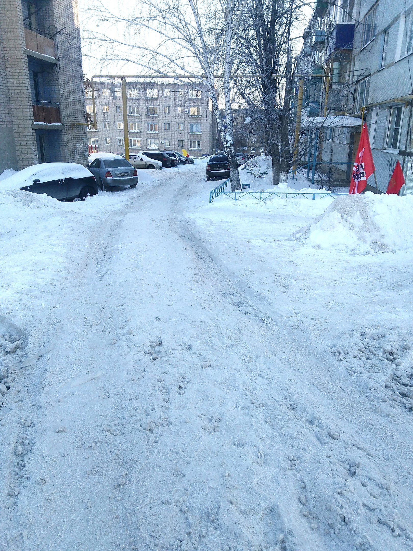 Сызрань уборка снега 2019