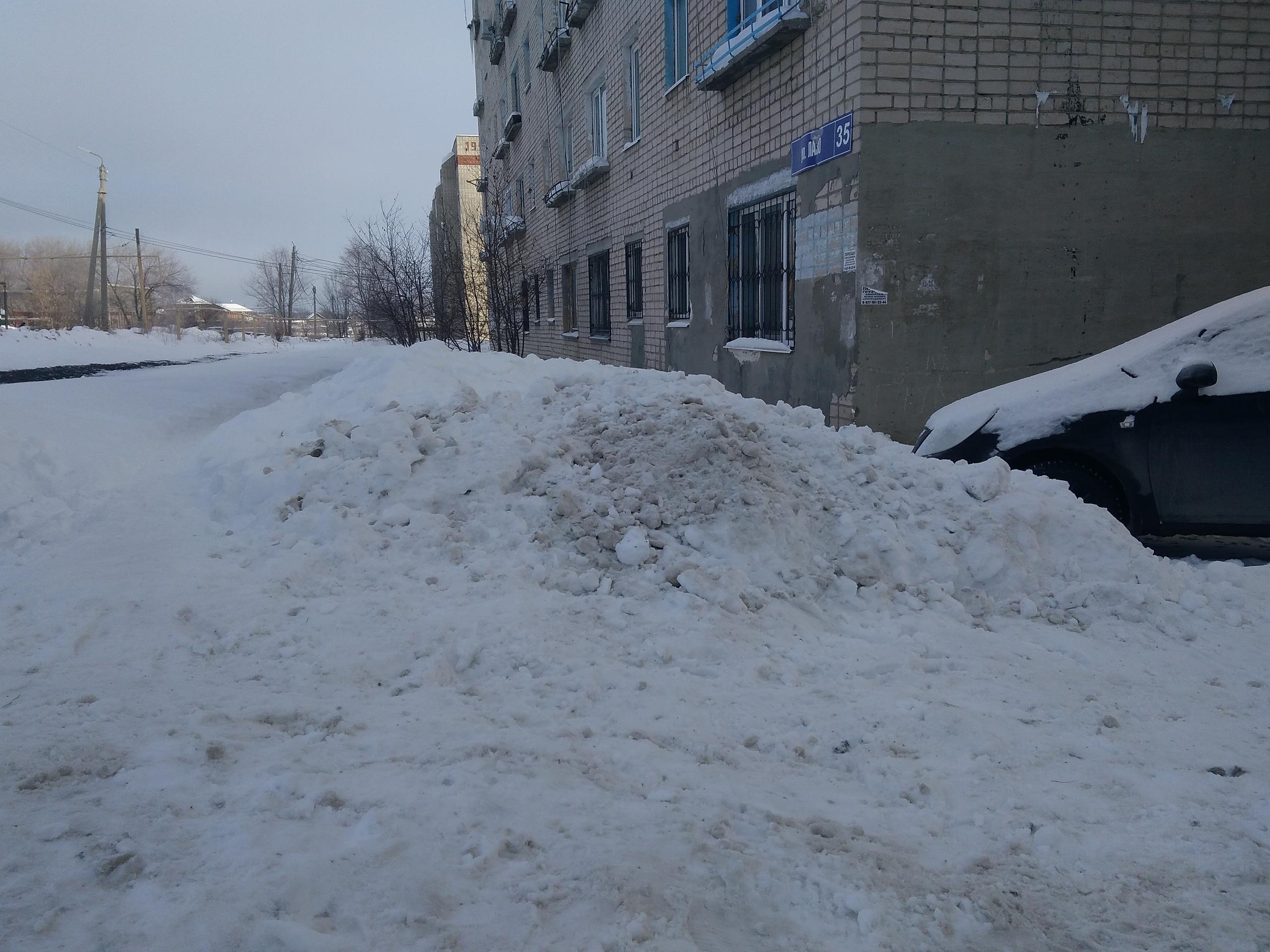 Когда уберут снег в Сызрани