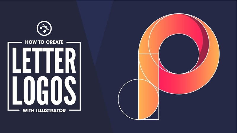 Illustrator Beginner Tutorial: Simple Letter Logos
