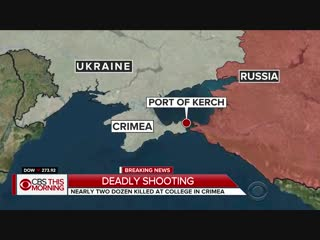 Deadly shooting in the city of kerch in crimea. the attacker was a fanboy of vladimir putin.
