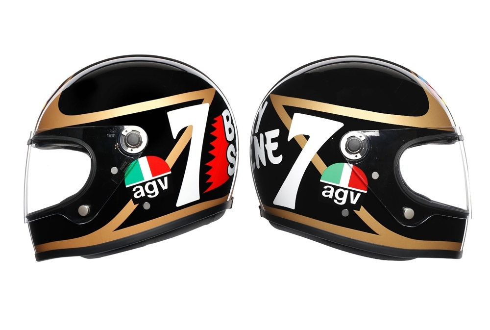 Мотошлем AGV X3000 Barry Sheene