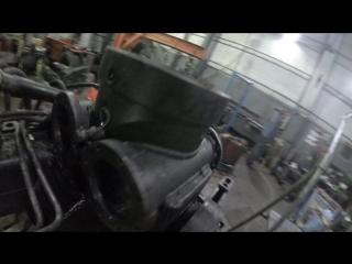 Капремонт манипулятора ВЕЛМАШ ОМТ-97М продолжается...