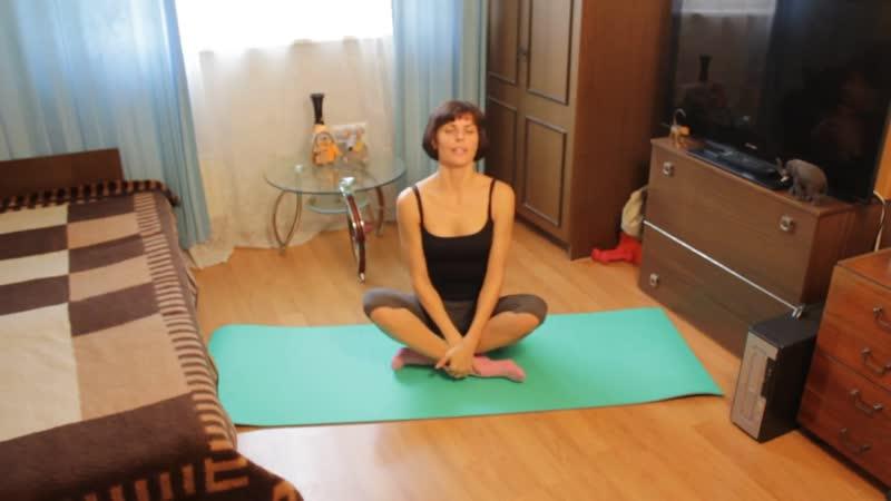 Упражнения против целлюлита на животе
