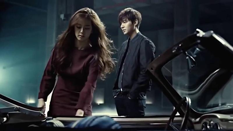 Lee Min Ho Kim Ji Soo Black Pink Samsonite CF
