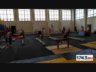 Центр спортивной гимнастики и акробатики открылся в Оренбурге