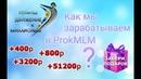 Как мы зарабатываем в Prok MLM | Движение к миллионам с Прок МЛМ