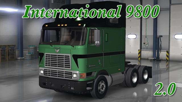 INTERNATIONAL 9800 V2....