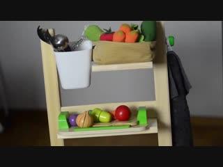 Небольшие хитрости для детских комнат