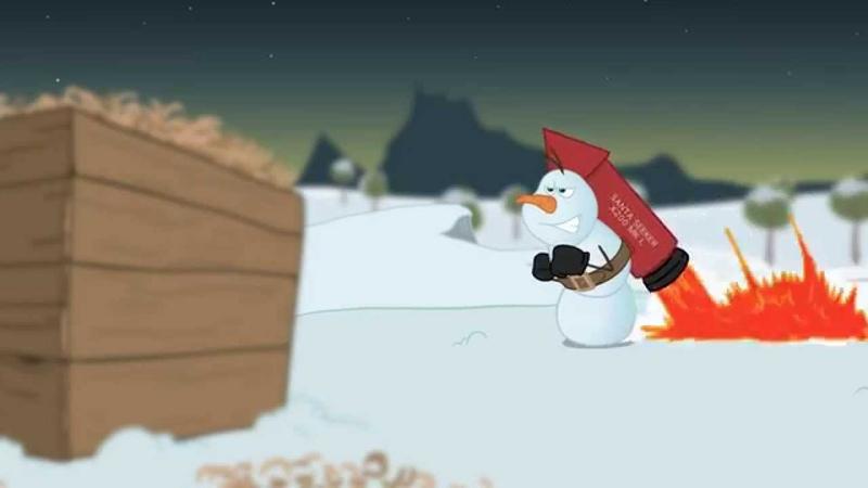 The Santa Run Animated Short 2D Cartoon for Christmas