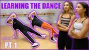 LEARNING HOW TO DANCE ft. Maddie and Kenzie Ziegler